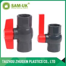 PVC octagonal ball valve ( socket & thread )