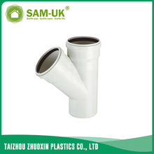 PVC sewer reducing wye for drainage water NBR 5688