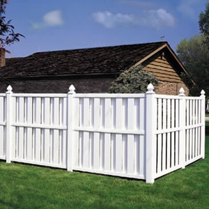 Vinyl Shadowbox Fence DY101