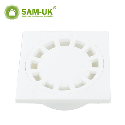 Floor Drain Cover Bathroom White Plastic Floor Drain