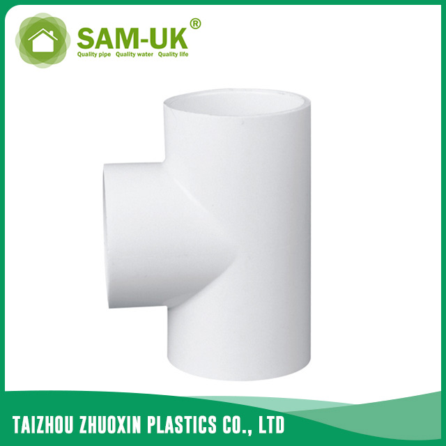 PVC pipe tee for water supply Schedule 40 ASTM D2466
