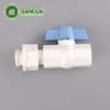Plastic PVC Octagonal Valve with Auxiliary