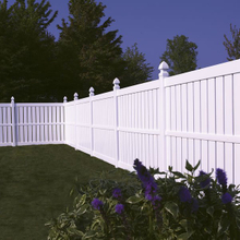 Vinyl Semi-Privacy Fence DY103