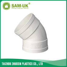 PVC waste 45 deg elbow for drainage water