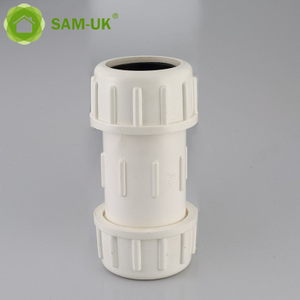 2 inch schedule 40 PVC slip compression coupling