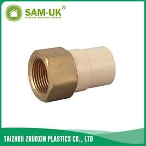 CPVC female brass coupling for water supply Schedule 40 ASTM D2846