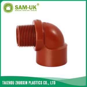 PPH threaded elbow for hot water