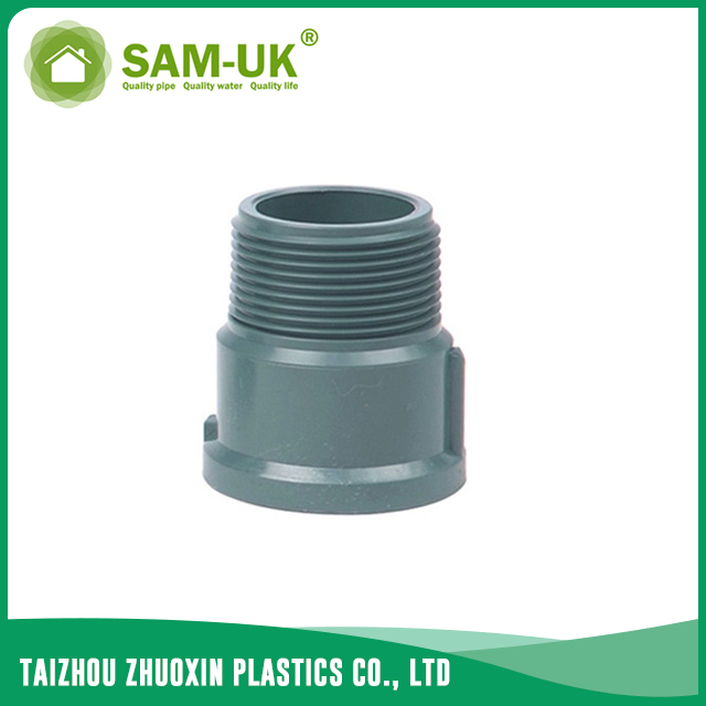 PVC male coupling socket x BSPT NBR 5648