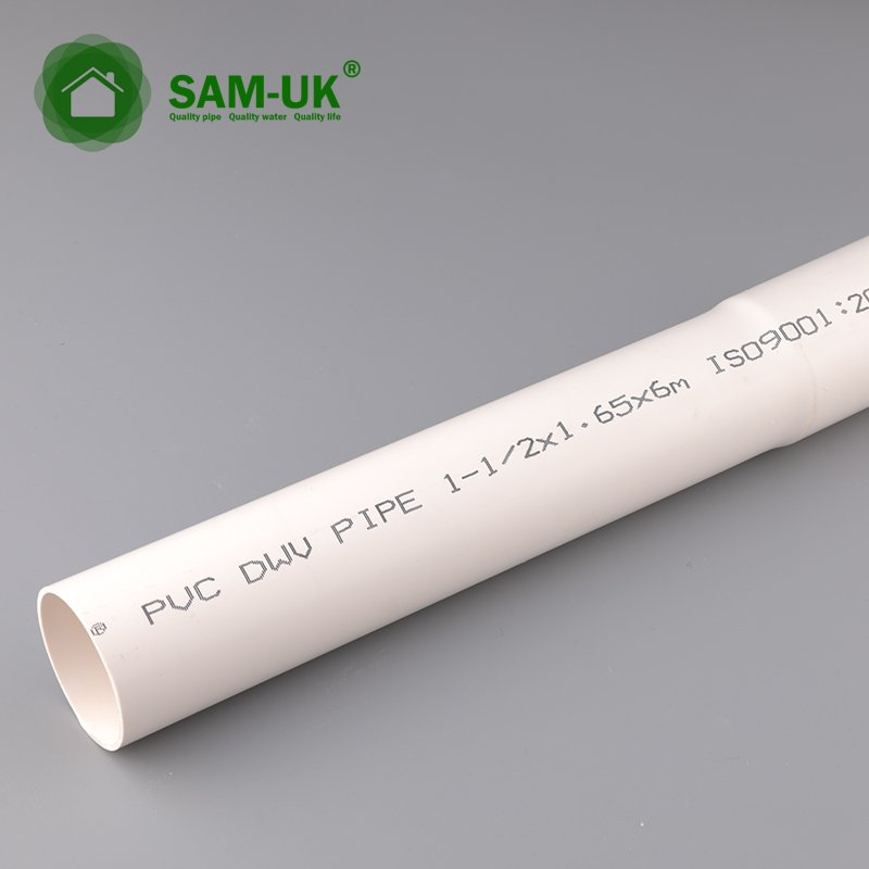 1-1/2 x 20' schedule 40 PVC pipe for drinking water