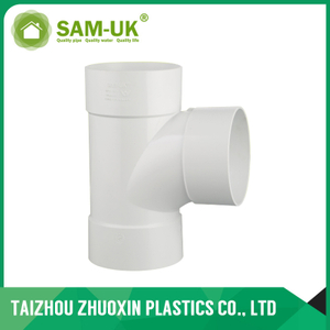 AS-NZS 1260 standard PVC Equal Plain Junction F/F