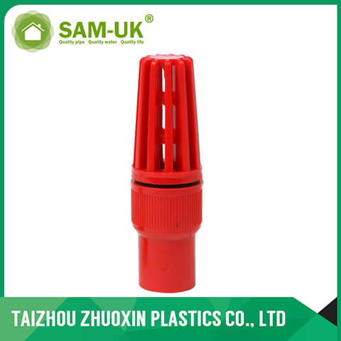PVC foot valve ( socket & thread )