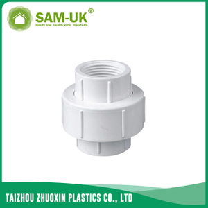 PVC threaded union for water supply BS 4346