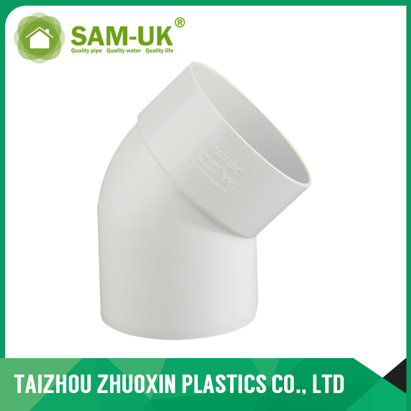 AS-NZS 1260 standard PVC Plain Bend M/F