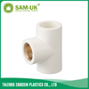 PVC brass female tee for water supply Schedule 40 ASTM D2466