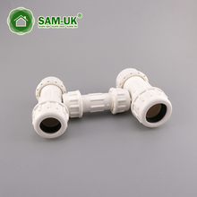 PVC compression coupling for water supply Schedule 40 ASTM D2466